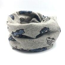 Модный хлопковый шарф для маленьких мальчиков; осенне-зимний шарф с круглым вырезом для мальчиков; детский нагрудник с воротником; детский шейный платок; шарфы для маленьких мальчиков