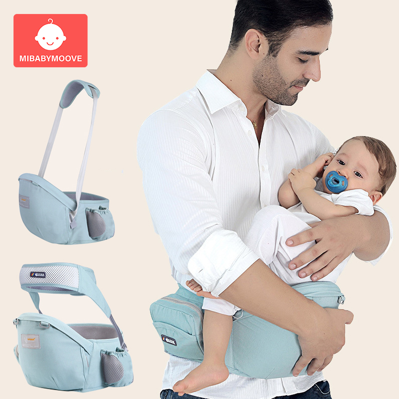 Baby Waist Stool Walkers Adjustable 2-1 Baby Hip Seat Carrier Infant Hold HipSeat With Safety Sling Waist Belt Kangaroo Hipsit