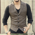 New Mens Jacket Sleeveless Vest Winter Fashion Casual Coats Male Hooded Velvet Men'S Vest Men Thickening Waistcoat Hot  A2802