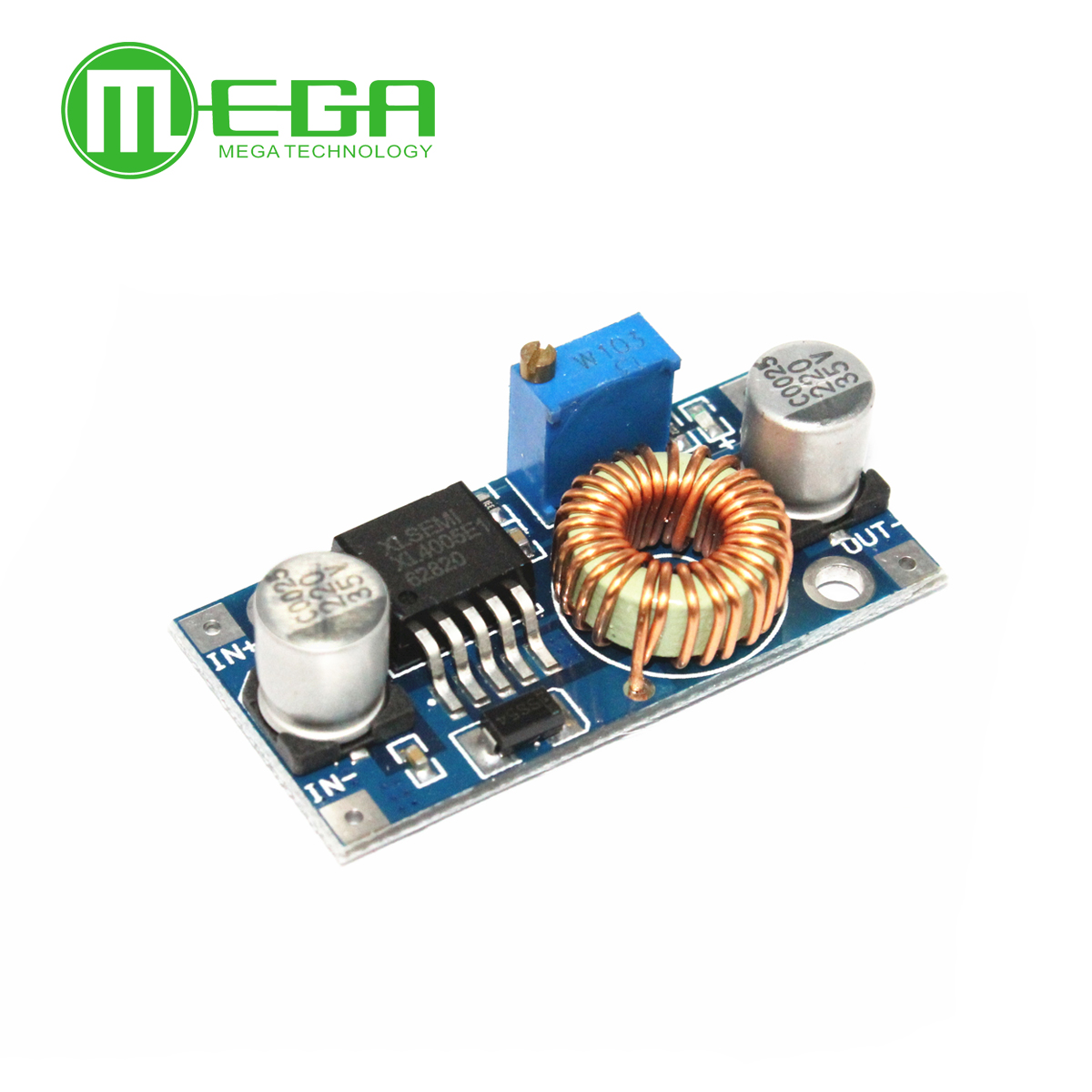 Integrated Circuits 5a High Current,high Power Megmoki 10pcs/lot Xl4005 Dsn5000 Beyond Lm2596 Dc-dc Adjustable Step-down Power Supply Module