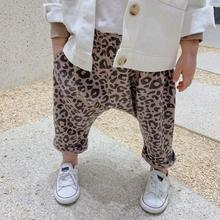 SOIFORM 2019 girls boys leopard cotton spring kids