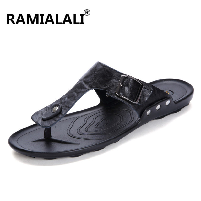 Men Slippers Flip Flops Men Slides Fashion Casual Flip Flop Slippers