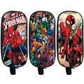 Comics Spiderman Pencil Holder Cartoon Deadpool School Case Boys Girls Bag The Avengers Children Cases Material Escolar Lapices