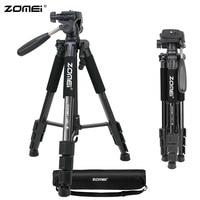 Original ZOMEI Q111 Portable Tripod Professional Aluminum Camera Tripod for DSLR Camera Gopro Flexible Video Tripod Stand