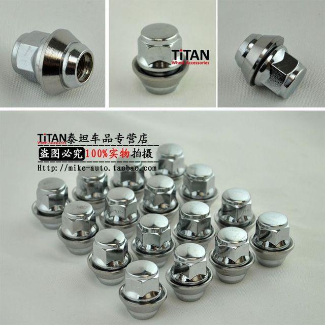 Pcs Mx  Replacement Pcd Wheel Lug Nut Hex