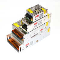 AC 110V 220V to DC 12V 5A 10A 20A 30A Lighting Transformers 60W 120W 240W 360W Switch Power Supply for LED Strip LED Driver