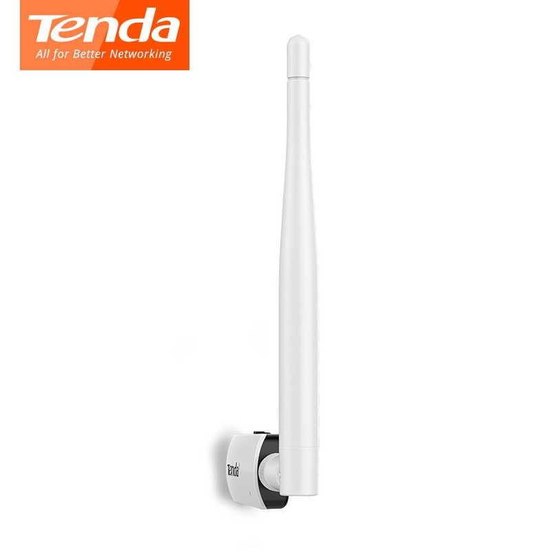 Tenda U1 carte réseau wi-fi usb 300 Mbps ultra-rapide mini 2.4 GHz antenne wifi 802.11b/g/n adaptateur USB sans fil