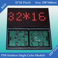 Free shipping 2pcs/lot 320*160mm 32*16 pixels for LED screens and LED signs P10 Outdoor Red color LED display module