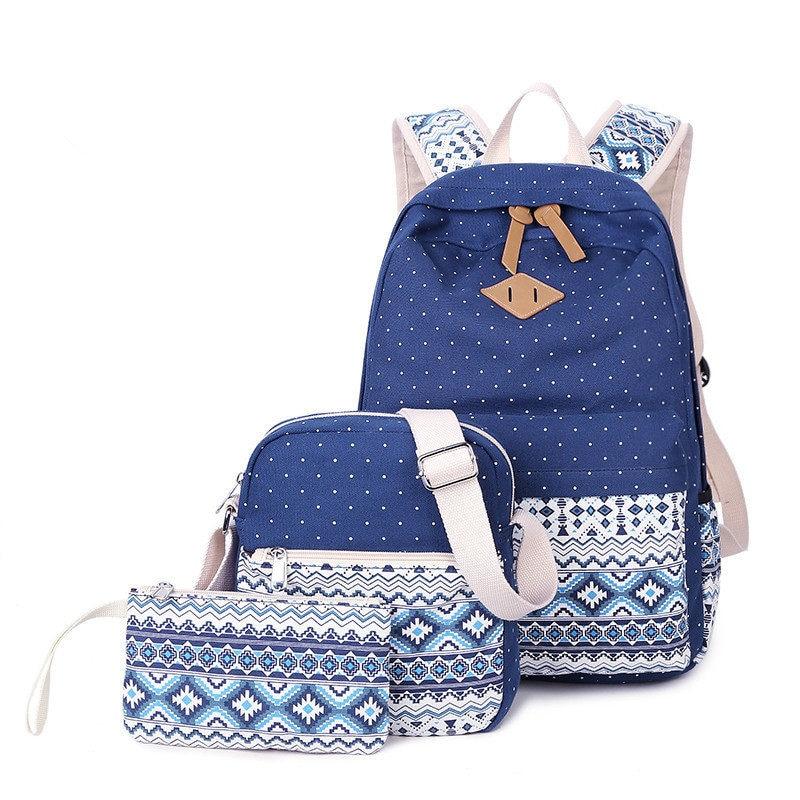 Composite Bag Backpack shoulder bag new 2017 girl boy school bags women Multifunction mochila Free shipping