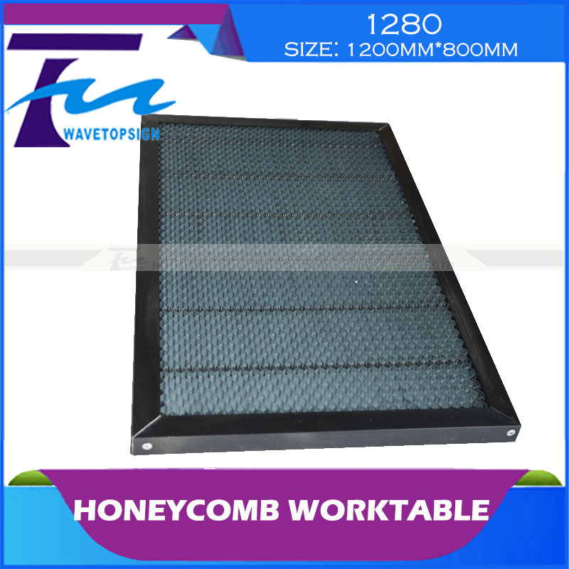 ФОТО honeycomb  worktable 1280 size  1200MM*800MM Cellular Workbench/use for laser engraving and cutting machine!