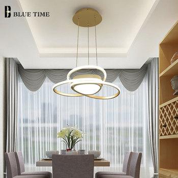 Iluminación de araña LED Curve Home para dormitorio sala de ...