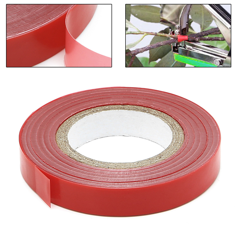 Garden Tape Tree Film Graft Branch Bind Belt PVC Tie Tools 1.1CM X 30M / Roll