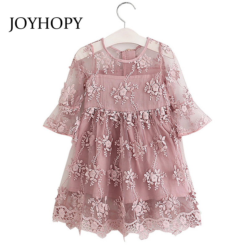 Fashion Lace Girls Dress Summer Spring 2017 Quality Children Clothing Princess Kids Girl Clothes wedding Party Baby Girl Dresses baby girls dress summer 2017 brand girls wedding dress cotton princess dress for girls clothes kids dresses children clothing