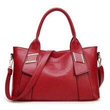 Fashion Brand Designer Women PU Leather Handbags Tote bag Crossbody Messenger Bag Lady Bolsa free shipping