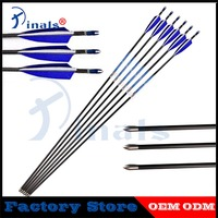 6/12pcs CE Carbon Arrows Spine 500 600 700 800 900 30inch ID 4.2mm 4inch Turkey Feathers Recurve Bow Hunting Shooting Archery
