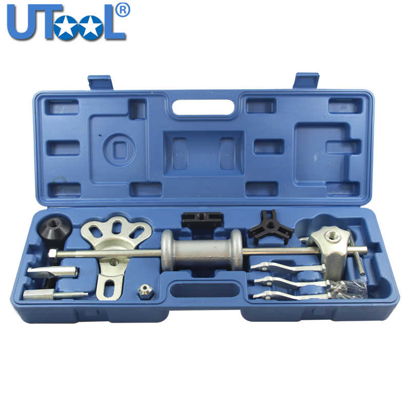 9-Way Slide Hammer Puller Set Bearing Puller Dent Puller 2/3 Jaws External Internal Pulls Flange Rear Axles NEW