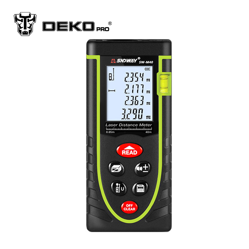 Dekopro Cj320 Handheld Laser Distance Meter 40m 60m 80m