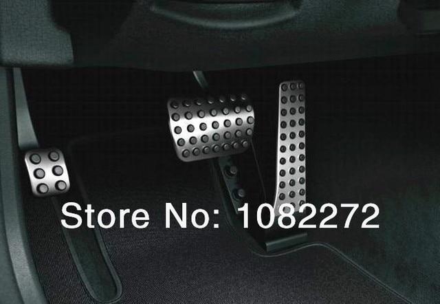 3pcs/set Gas Fuel Brake Footrest Foot Pedal Plate AT For Mercedes Benz W202 W203 W204 W205 C180 C220 C250 C300 C400 C Class