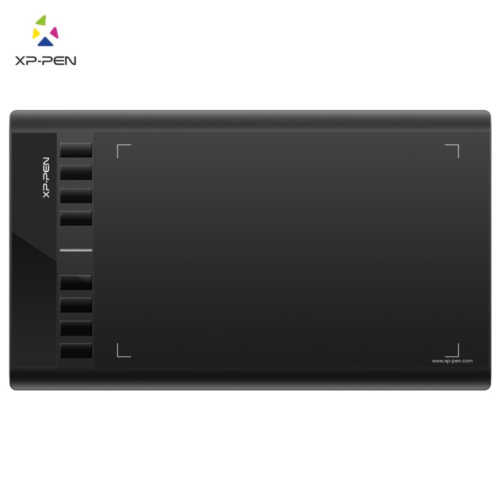 Графический планшет для рисования и OSU!6х4 дюймов Чувствительность нажатия - 8192 уровней и безбатарейный стилу 10x6''