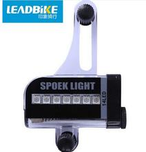 Leadbike Bicycle Accessories New 14 LED Motorcycle Cycling Bike Wheel Light Signal Tire Spoke Light 30 Changes for Cycling