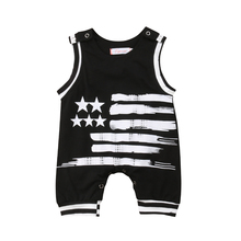Pudcoco Unisex Five-pointed Star Toddler Newborn Baby Girl Boy Short Sleeve  Jumpsuit Bodysuit Outfits Clothes Summer 2019 newborn star wars baby boy girl jumpsuit bodysuit cartoon short sleeve cotton clothes outfits 0 18m