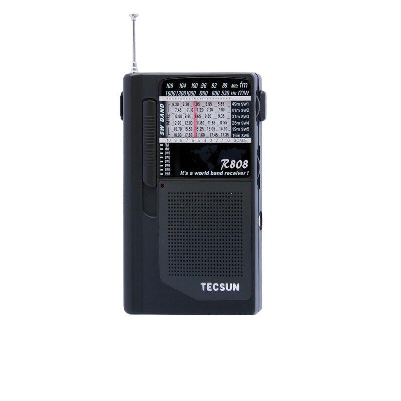 Unterhaltungselektronik Tecsun R-808 Tragbare Fm/mw/sw Volle Band Mini Lautsprecher Radio Kataloge Werden Auf Anfrage Verschickt
