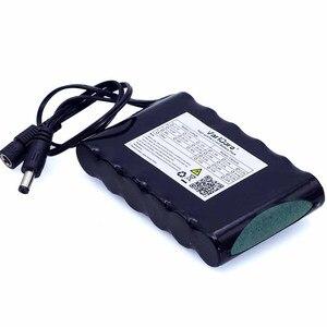 Портативный литий-ионный аккумулятор VariCore, перезаряжаемый аккумулятор Супер 18650, 12 в пост. Тока, 6800 мА/ч, камера видеонаблюдения, монитор, 12,6 В, 1 А, зарядное устройство
