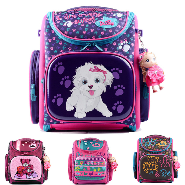 NEW Delune Kids Backpacks Kindergarten School Bags for Girls Boys Waterproof  Cartoon Children Mochila escolar infantil ef8c67cfc8088