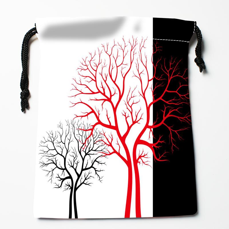 Custom Tree Bags Custom Printed Gift Bags More Size 27x35cm Compression Type Bags