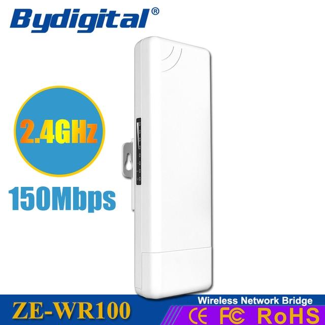 Мульти-версия 2.4 ГГц AP моста CPE 150 Мбит Long Distance 3 КМ 15Dbi открытый WI-FI Маршрутизатор WI-FI Ретранслятор Точка доступа