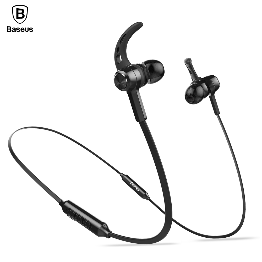 baseus s06 auriculares bluetooth headphone with microphone 4 1 stereo casque wireless headset. Black Bedroom Furniture Sets. Home Design Ideas