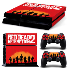 Red Dead Redemption 2 II PS4 Skin Sticker