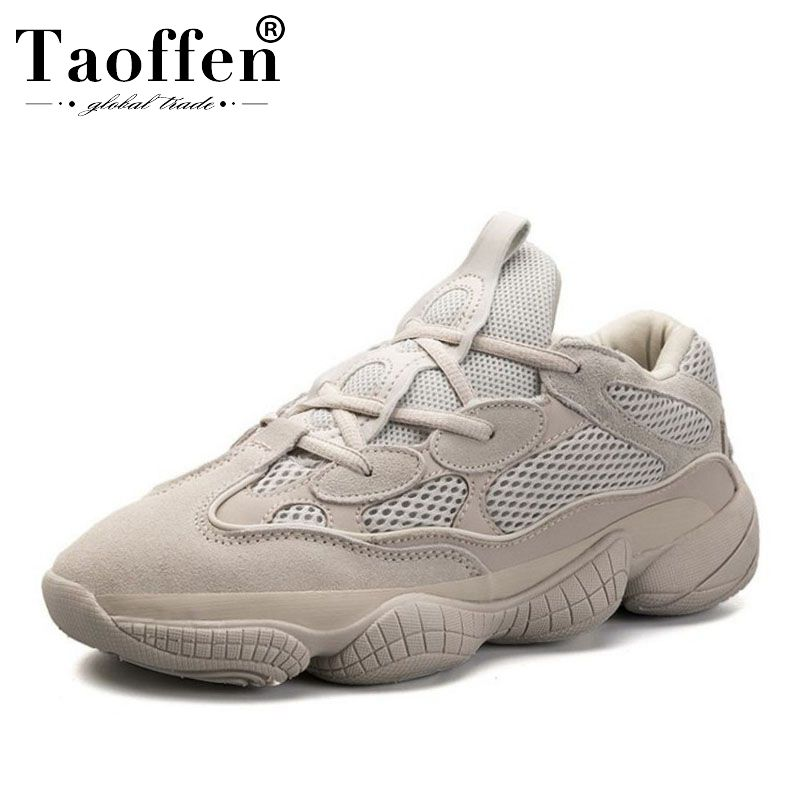 TAOFFEN Young Ins Hot Ladies Real Leather Vulcanized Shoes Women Thick Bottom Sneakers Causal Shoes Women Fashion Size 35-44TAOFFEN Young Ins Hot Ladies Real Leather Vulcanized Shoes Women Thick Bottom Sneakers Causal Shoes Women Fashion Size 35-44