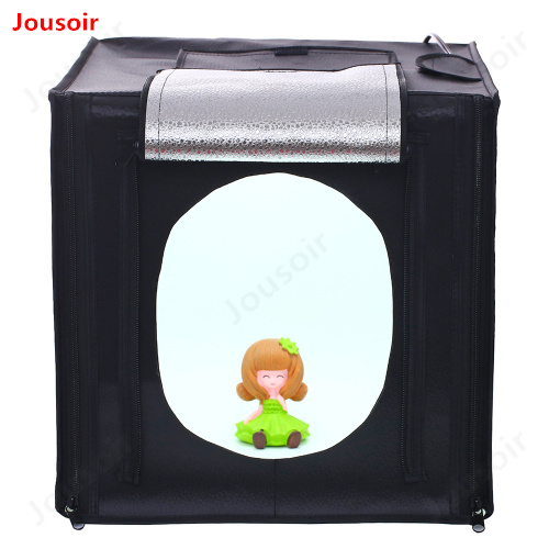 30*30cm LED Photo Studio Softbox Shooting Light Tent Soft Box + Portable Bag + AC Adapter for Jewelry Toys Shoting CD15