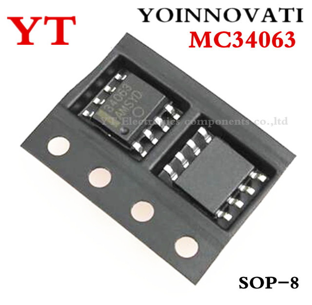 Free shipping 10pcs/lot MC34063 34063 MC34063AD SOP8 IC best quality.