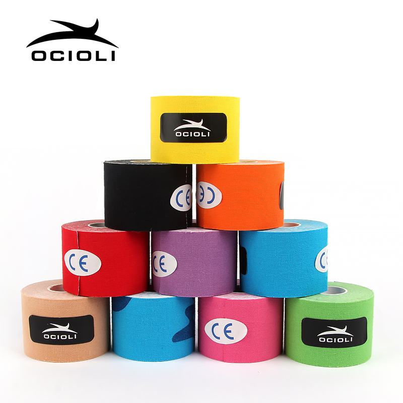 20 Rolls Athletic Tape Viscose Sport Tape Strapping Football Basketball Knee Muscle Tapes Kinesiology Tape Volleyball