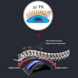Image 3 - 1pc חזרה למתוח ציוד לעיסוי קסם אלונקה כושר המותני תמיכה הרפיה עמוד השדרה כאב הקלה מתקן בריאות