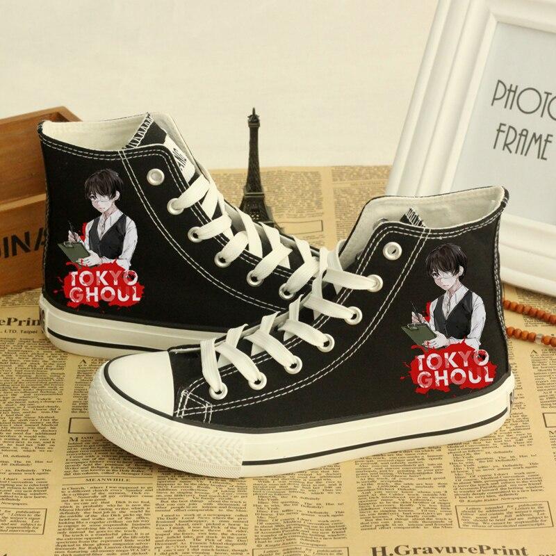 zapatos alta zapatos de tokio ayudar Ghoul Tokio para de a lona RqnwC6X7