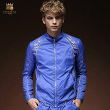 fanzhuan Free Shipping New fashion casual male Men's Spring long sleeved summer thin style shirt loose personality jacket 15027