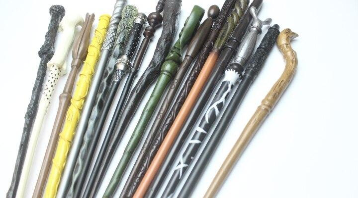 Harry Potter prix le plus bas baguette Ron Luna Snape Ginny Weasley Narcissa baguette en gros 18 styles pour choisir