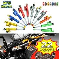 CNC Universal Motorcycle Dampers Steering Stabilizer Safety Control For Yamaha MT07 R6 Kawasaki KTM Honda Suzuki GSXR Hayabusa