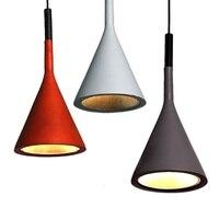 GZMJ Black/Brown/Grey/White Lamp Resin Led Pendant Light Fixtures Kitchen Restaurant Bedroom Loft Nordic Modern Famous Design