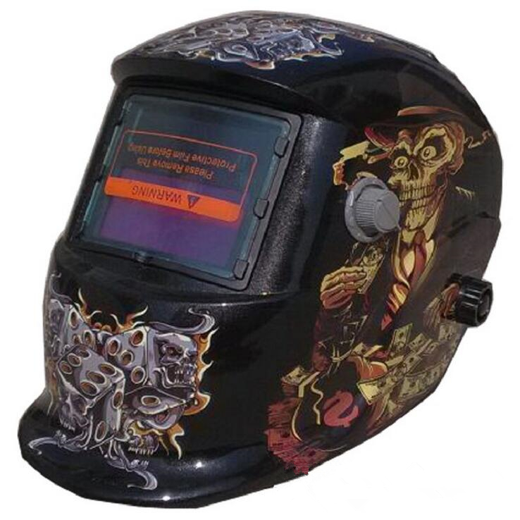 Advanced Decoration Art Skull Uncle Welding Protective Mask Welding Helmet Made in China High Quality Protection airsoft adults cs field game skeleton warrior skull paintball mask