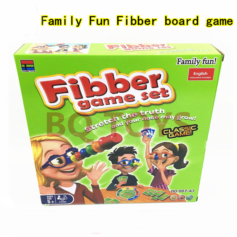 Liar Fibber Board Game Hilarious Noses Glasses Stretch The Truth