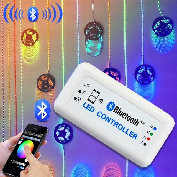 smartphone lighting control. Smartphone Control Led Strip Light Zigbee Wifi Bluetooth Controller Rgbw Multifunction Lighting M