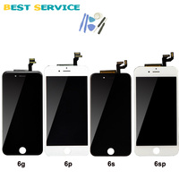 AAA Quality For IPhone 6 LCD Screen Display With Touch Screen Digitizer Assembly White Black Colors