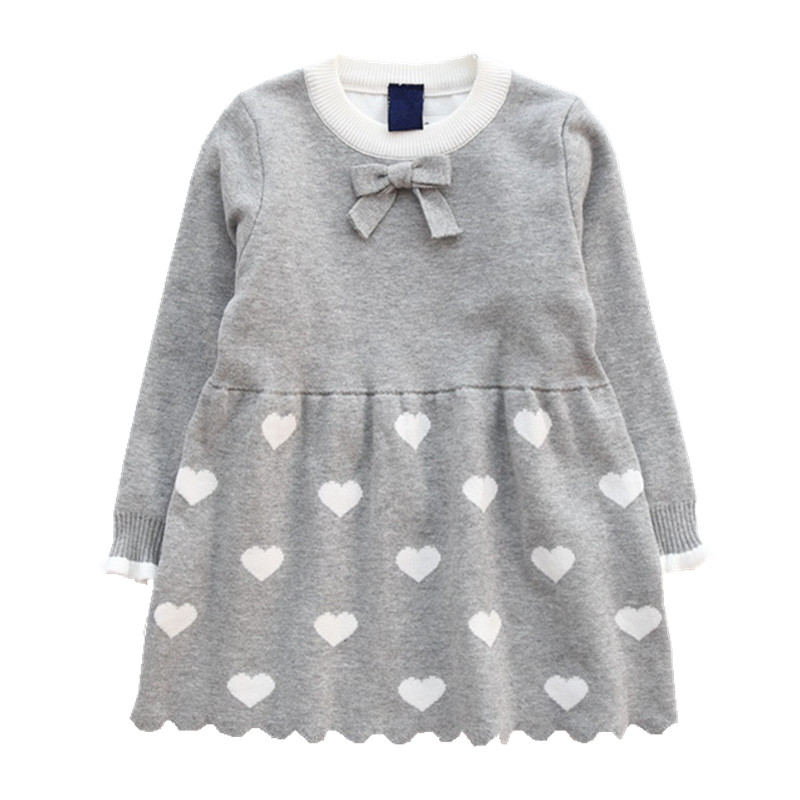 baby <font><b>girls</b></font> sweaters <font><b>dress</b></font> kids pullover <font><b>christmas</b></font> <font><b>red</b></font> winter children sweater cute beautiful child Clothes Cotton <font><b>Long</b></font> <font><b>Sleeve</b></font> image