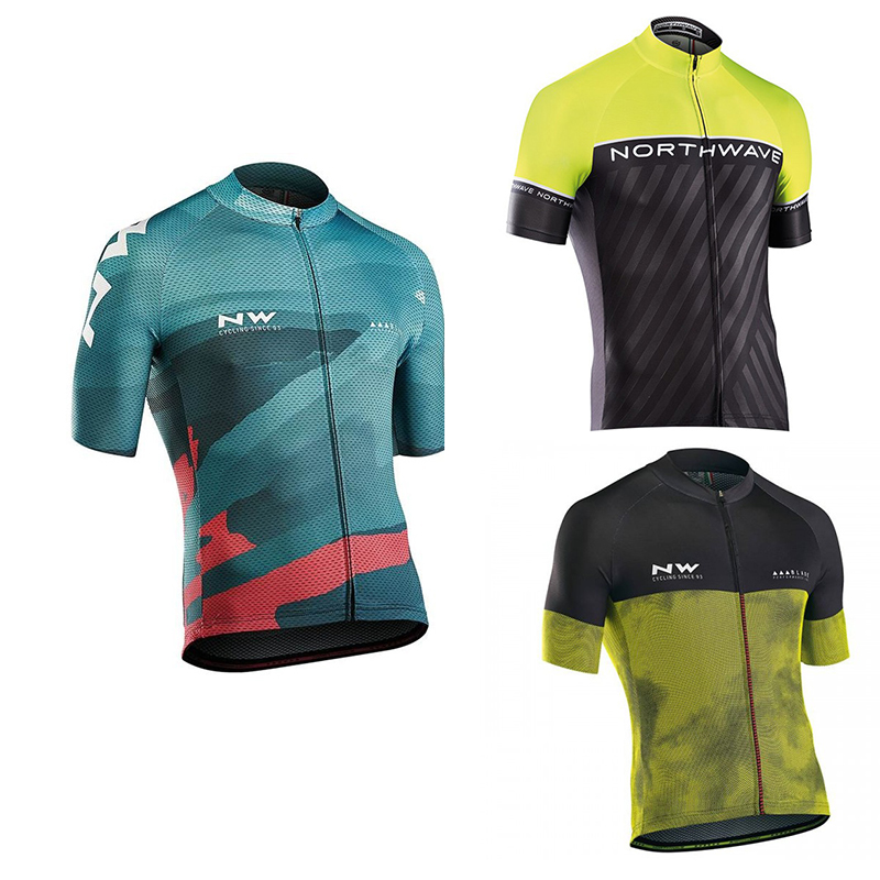 Team NW 2018 Summer Short Sleeve Quick Dry Pro Cycling Jersey Bycicle Clothing Ropa Ciclismo Bike Clothes