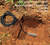 Environment laboratory Greenhouse Agriculture Soil Temperature Sensor Soil Moisture Monitoring Ground Temperature Transmitter