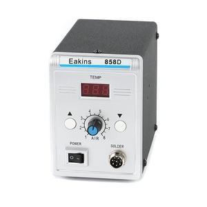 Image 3 - 700W 858D הלחמה תחנת LED דיגיטלי הלחמה ברזל הסרת הלחמה תחנת BGA עיבוד חוזר הלחמה תחנת אוויר חם אקדח